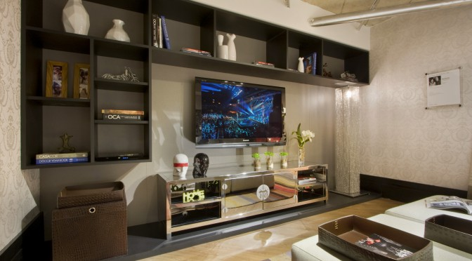 Como decorar o home theater